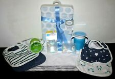 New Lot of 15 Infant Baby Toddler Items : Bibs, Blankets, Spit Up Towels, & More