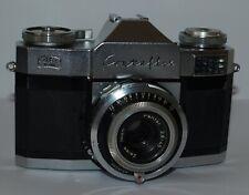 Vintage Zeiss Ikon Contaflex Prima 35mm Camera Pantar 2.8 / 45 Lens