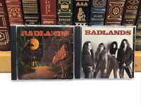 2 CDS ~ Badlands ~ Self-Titled/VooDoo Highway ~ New Jewel Cases