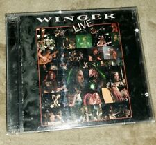 WINGER 2cd LIVE free US shipping