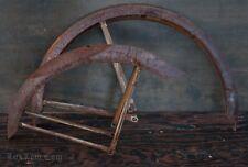"""Vintage 24"""" CWC Rat Rod Bicycle FENDERS Braces Prewar Hawthorne Roadmaster Bike"""
