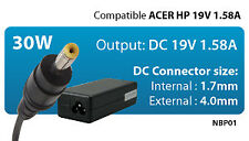 Upower Alimentatore Notebook 30w Comp Acer HP 19v 1.58a