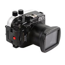 Meikon 40m 130ft Underwater Waterproof Housing Case fr Canon EOS M3 18-55mm Lens