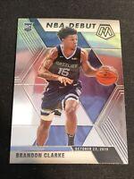 Brandon Clarke 2019-20 Panini Mosaic Base NBA Debut #277 RC Memphis Grizzlies