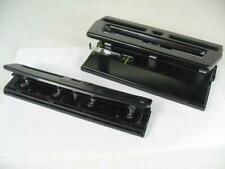 2x Three Hole Punches 1 Punchodex P 39 Amp Heavy Duty Generic Good Condition