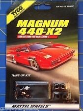HO Slot Car TYCO Electric Racing Magnum 440-X2 Tune Up Pit Kit Item 36669 New