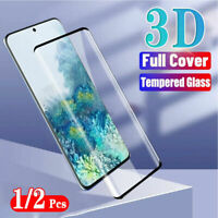 Samsung Galaxy S20/10/Plus/Ultra FULL COVER Tempered Glass Screen Protector