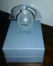 Lalique Society of America Art Deco Crystal Flacon Perfume Bottle New in Box '94