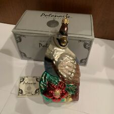 Beautiful Polonaise Kurt S. Adler Komozja - Partridge - Christmas Glass Ornament