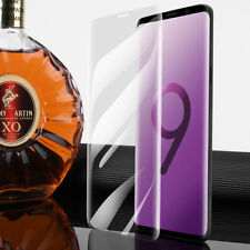 For Samsung Galaxy S9 CLEAR Full Curved 3D Tempered Glass Screen Protector