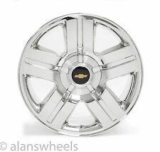 "NEW Chevy Avalanche Silverado Texas Edition Chrome 20"" Wheels Rims FreeShip 5291"