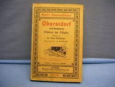 altes Buch Oberstdorf und Umgebung Woerl's Reisehandbücher 1909 (45)