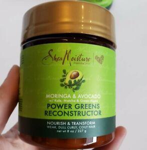 Shea Moisture Hair Hydration and Shine Cream with Moringa and Avocado 8oz