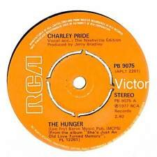 """Charley Pride - The Hunger - 7"""" Record Single"""