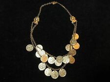 Ehyption Pharoh Gold Coin Necklace Costume Jewelry Mummy Belly dancing Unique