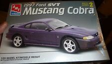 AMT 1997 FORD MUSTANG COBRA SVT MODEL CAR MOUNTAIN 1/25 FS