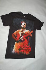 Mens S/S Movie Tee Shirt The Texas Chainsaw Massacre Black M 38-40