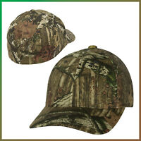 Flexfit Hunting Hat Mossy Oak Pattern Camouflage Cap, Brand New Solid Camo Army