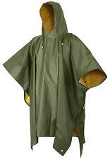 rain poncho waterproof pvc reversible with hood rothco 3634