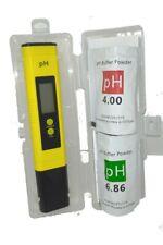 More details for ph meter lcd digital tester pen hydroponics inc calibration sachets uk stock
