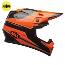 BELL MX-9 MIPS MOTOCROSS MX BIKE HELMET - STRYKER FLO ORANGE - ROAD LEGAL