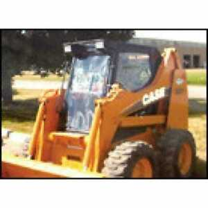 All Weather Enclosure Skid Steer Loaders 1835C 1838 1840 Compatible with Case