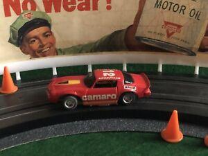 Vintage TYCO CAMARO IROC Z Aurora AFX Racing Slot Car T-JET MoDeL MoToRing