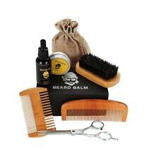 Kit di cura per barba, pettine per capelli, barba, allineamento e rifinitura