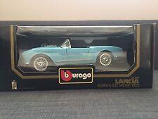 Bburago 1:18 LANCIA AURELIA B24 SPIDER 1955 Die-Cast Mint in Boxed BLUE NEW 1983