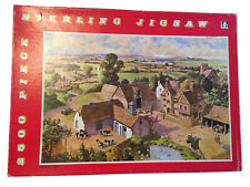 VINTAGE TOWER PRESS 2500 STERLING  JIGSAW PUZZLE - HARVEST TIME