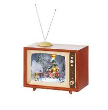 "RAZ Imports 15 "" Animated Vintage Musical TV Box #3616310 Brand New"