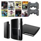 Playstation 3 Konsole (Slim / Super Slim / FAT) 1 bis 3 Original Controller PS3 <br/> Spiele Bundle 3 - 7 Games 12 80 120 160 320 500 GB 1 TB