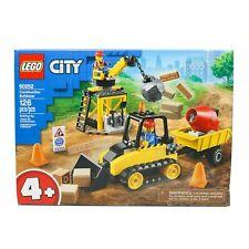 Lego City 60252 Construction Bulldozer w/ Crane Wrecking Ball Construction Crew