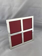 Sterling Silver Picture Frame 2002 London Wedding Present
