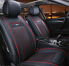 5 Seats Universal 2PCS Car Seat Covers Front Pair Set PU leather for all car