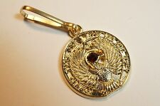 Raiders of the Lost Ark Indiana Jones Eye of Ra Staff Jacket Zipper Pull Clip