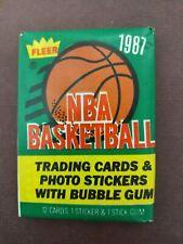 1987 Fleer Basketball Sealed Wax Pack. Possible Michael Jordan 2nd year