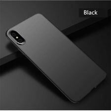 For iPhone Xs XS Max Xr Shockproof Ultra Slim Matte Hard Back Cover Skin Case