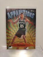1998 - 1999 Topps Chrome Apparitions Tim Duncan San Antonio Spurs #A…