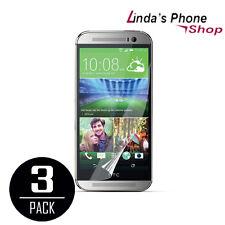 Premium Anti-Glare Matte Screen Protector Film Cover For HTC One M8 3 PCS NEW!