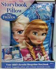 NEW DISNEY Frozen Storybook Pillow Comfy Pillow/Classic Storybook All-in-One 3Y+