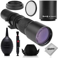 500mm/1000mm Telephoto Lens for Canon 80D 70D 60D 7D 6D T6i T6s T6 T5i T5 T3i T3