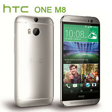 Android 5''Unlocked HTC One M8 32GB 4G LTE Quad-core Smart Phone - Silver