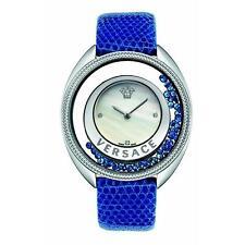 Versace Women's VQO030015 DESTINY PRECIOUS Diamonds Leather Wristwatch