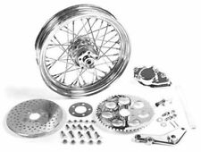 16 x 3.00  Rear Wheel Kit with Caliper Chrome for Harley Davidson motorcycles