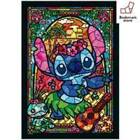 New Disney 266 Piece Jigsaw Puzzle Stitch Stained Glass 18.2x25.7cm