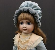 A  STUNNING   'AT'  REPRODUCTION  BISQUE  DOLL  - - COSTUMED BY HAZEL ULSETH