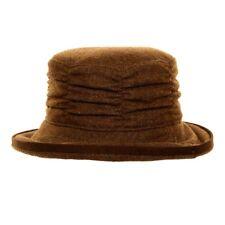 WOMENS TWEED HAT [BROWN]