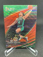 2019-20 PANINI SELECT T-MALL CARSEN EDWARDS RED WAVE CHINA PRIZM COURTSIDE RC SP