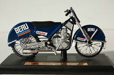 EIS  ICE SPEEDWAY  SIWA 500 1/18th MAISTO MODEL MOTORCYCLE